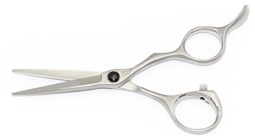 Tesoura para corte de cabelo bordado