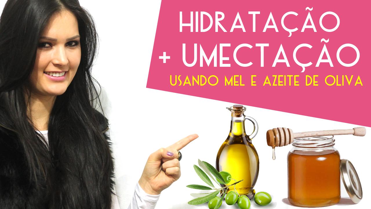 Como fazer Hidratação nos cabelos com Mel e Azeite de Oliva