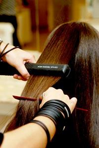 Como deixar o cabelo liso naturalmente 5