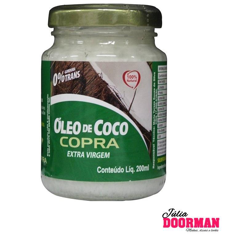 Usando Óleo de Coco extra virgem nos cabelos