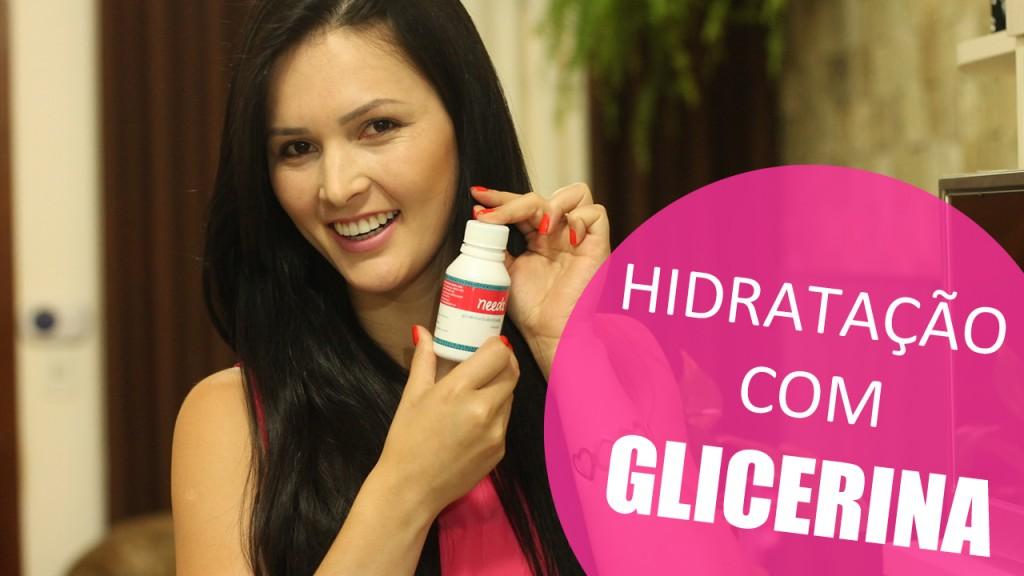 Hidratação com Glicerina Passo a Passo