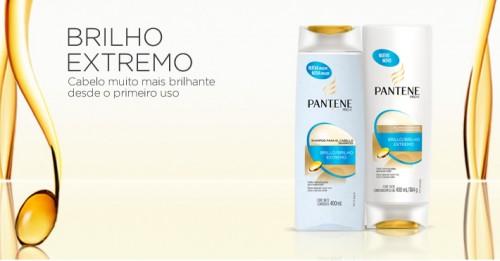 Shampoo e Condicionador Brilho Extremo da Pantene