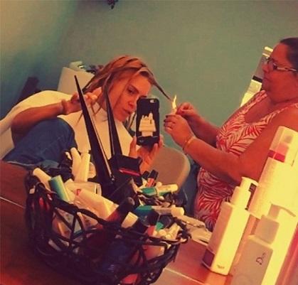 Como fazer Velaterapia Carolina Dieckman