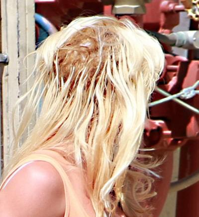 Mega Hair mal cuidado