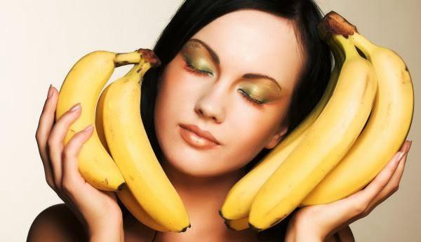 Hidratação nos cabelos com Banana