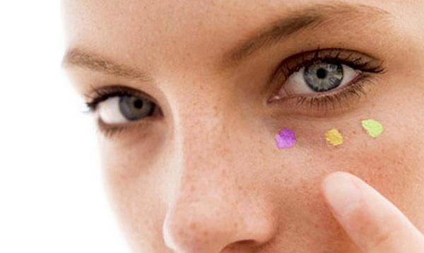Como usar corretivos coloridos na maquiagem