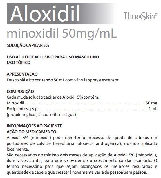 O que é Minoxidil exatamente e qual sua composição?