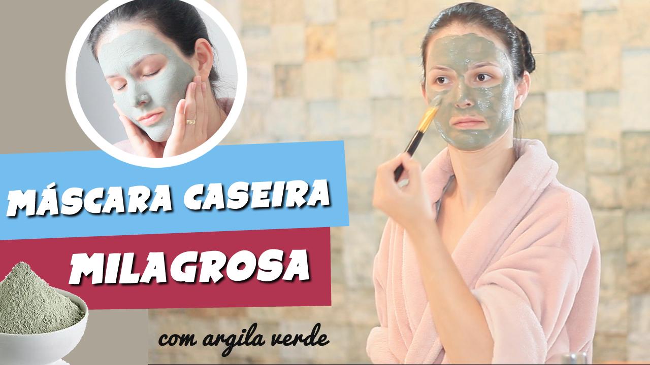 Mascara Caseira Argila Para Reduzir Oleosidade E Espinhas