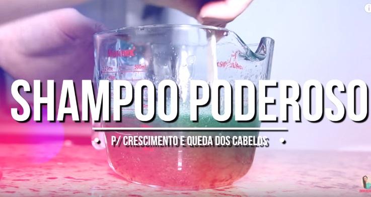 Shampoo Caseiro para Crescimento e Queda de Cabelo