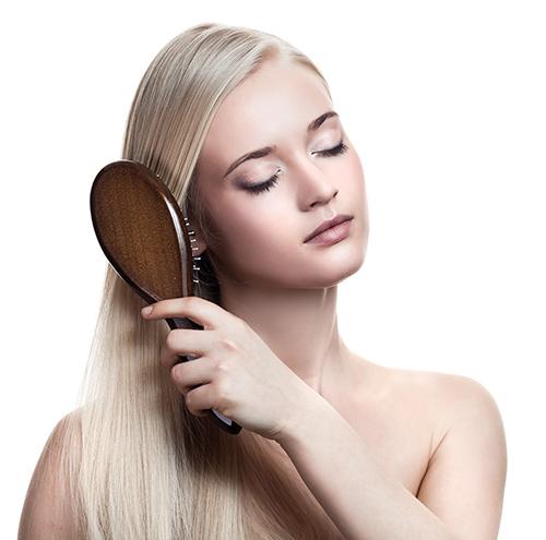 Cuidados com a escova de cabelo