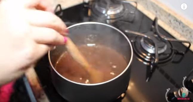 Hidratação Caseira Potente de Chocolate passo a passo