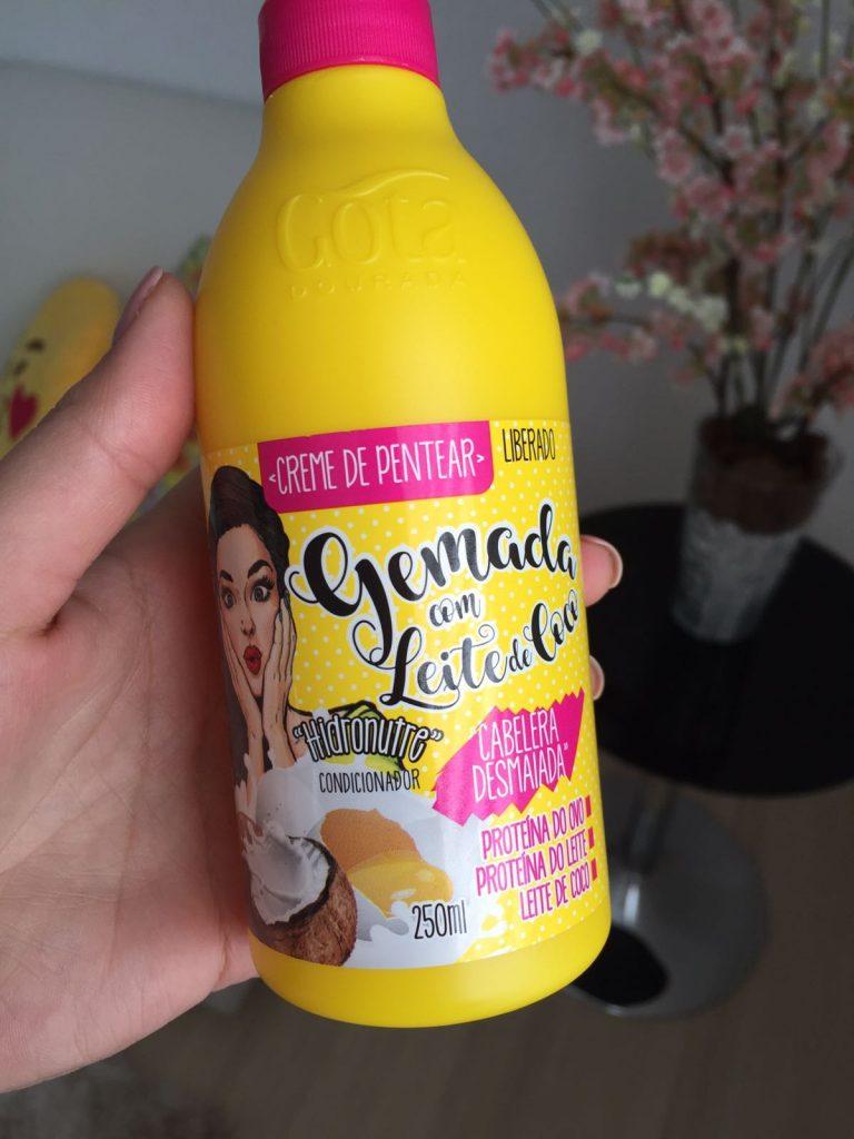 resenha-kit-gota-dourada-gemada-com-leite-de-coco-creme-de-pentear