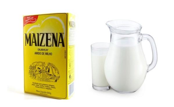 Como fazer hidratação com amido de milho?