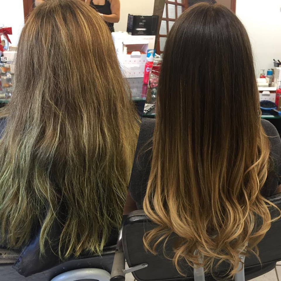 Antes-Depois-Mechas-Ombre