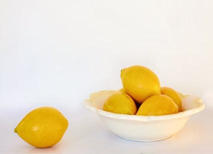 Alisamento com óleo de coco e limão