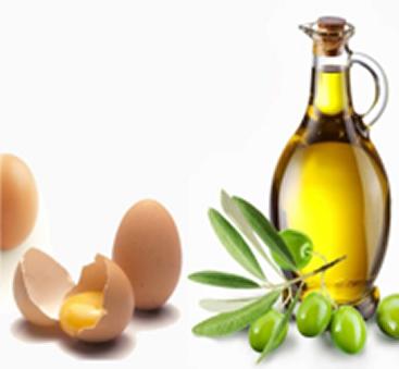Como hidratar o cabelo com Ovo e Azeite - Ingredientes