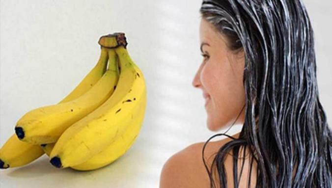 Hidratação caseira para o cabelo - Banana