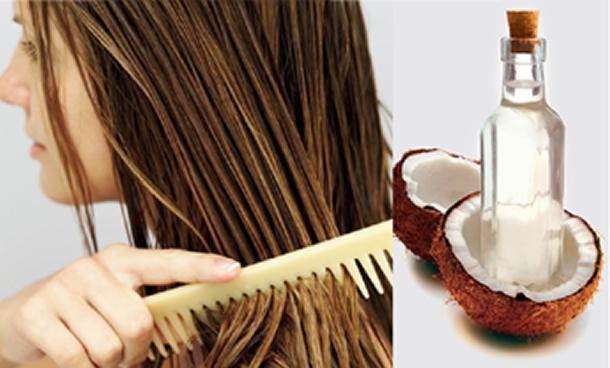 Hidratação caseira para o cabelo - Óleo de coco