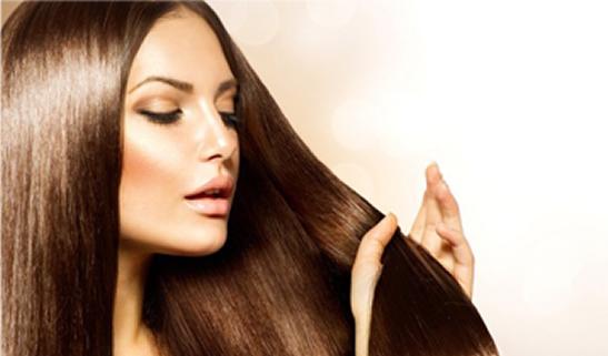 Hidratação que estimula o crescimento dos cabelos