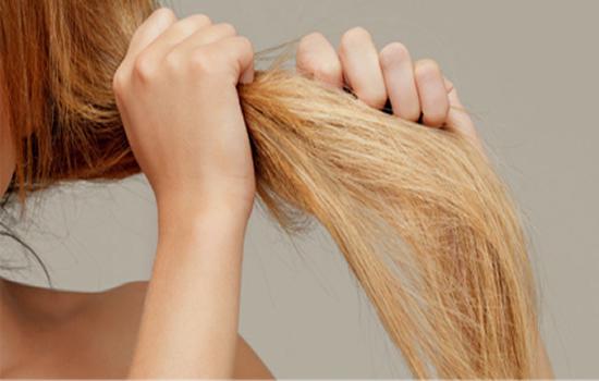 Hidratação forte para cabelos ressecados
