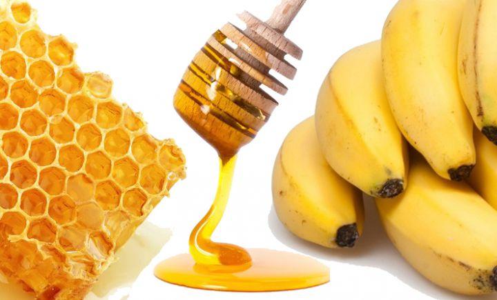 como-usar-mel-no-cabelo-banana