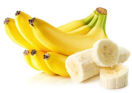 Ingredientes do Alisamento caseiro com banana